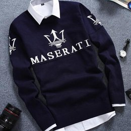 Wholesale Nice Clothes Men - autumn winter Hot selling fashionable causal nice warm pullover christmas sweater men Cheap wholesale brand clothing