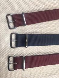 Даниэль нейлон ремешок 2018 последний красный синий нейлон ремень 18 мм 20 мм мужские женские часы ремешок для DW смотреть от