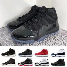Wholesale glittering shoes - High quality 11s Prom Night Black Out PRM Heiress WIN LIKE 82 96 Space Jam Men Women Basketball Shoes 11s Athletic Sports Sneakers