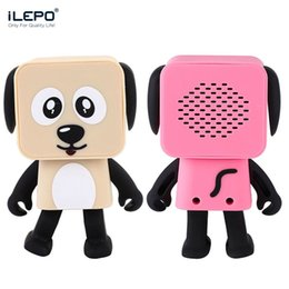 Wholesale Iphone Music Speakers - Wireless Speakers Smart Dancing Dog Bluetooth Speaker Portable Speakers Compatible Iphone Samsung Cell Phones Best Music Play Dogs Toys Gift