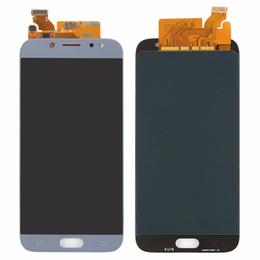 novas peças para telemóvel Desconto Lcd substituição para samsung galaxy j7 pro 2017 j730 j730f lcd screen display touch digitador assembléia brilho ajuste