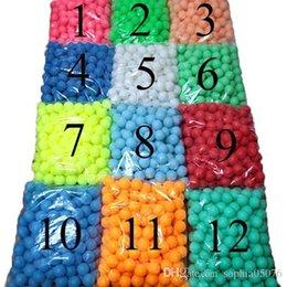 150 Unids / bolsa Al Por Mayor 40mm beerpong Juego Decoración Del Hogar Colorido Bolas de ping-pong Juguetes para bebés desde fabricantes