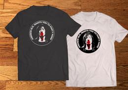 Männer nass weiß online-Andrew W.K. Ich bekomme nass blutige Gesicht Männer schwarz weiß T-Shirt Tee XS-3XL