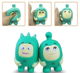 Wholesale toy soldiers free shipping - Squishies Soldier New Toys Kawaii Squishy Jumbo Green Cartoon Relaxation Kids Scent Slow Rising Free Shipping