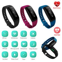 lg smart band Sconti La pressione sanguigna astuta del braccialetto V07 guarda il cardiofrequenzimetro di attività del pulsometro di attività del cardiofrequenzimetro di Smartband 1pc / lot