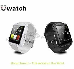 Smartwatch u8 dhl online-u8 intelligente Uhren Bluetooth U8 Smartwatch-Armbanduhren mit Höhenmesser für iPhone 6 Samsung S6 Anmerkung 5 HTC Android-Telefon geben DHL frei
