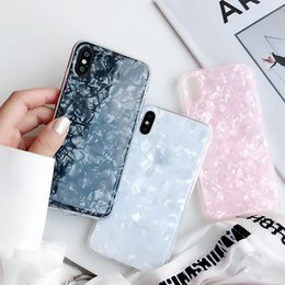 Mode Conch Shell Téléphone Cas Pour iphone 6S Cas Pour Apple iphone X 6 7 8 Plus Couverture Arrière De Luxe Belle Cas Drôle Coque ? partir de fabricateur