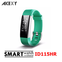 ID115 HR Plus Smart Wristband Fitness APP GPS Activity Tracker Smart Bracelet HR Sleep Monitor Smart Band BT Camera and Music Remote Control Coupon