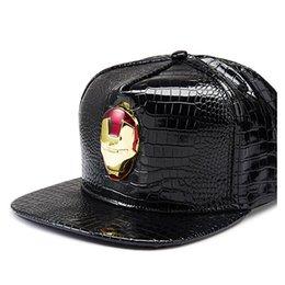 Fashion The Avengers baseball caps women men new hip hip pu Iron Man  snapbacks hot sale men designer hats free shipping dd7f9cec865f