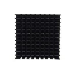 Dissipatore di calore in alluminio per led online-40mm * 40mm * 11mm FAI DA TE Dissipatore di Alluminio Dissipatore di calore Dissipatore di calore per LED Power Chip di Memoria IC Colore Nero Spedizione Gratuita