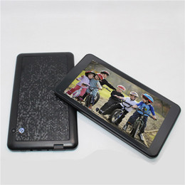 Tablet barato quad core on-line-Glavey 7 polegada Android 4.4 Allwinner A33 Quad core tablet pc Única câmera 1 GB / 8 GB Bluetooth wifi 1024x600 Barato crianças tablet pc