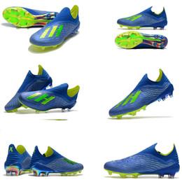 low priced e97c1 f7b09 Copa del mundo original ACE 18.1 Speedmesh Nemeziz FG Football Cleats verde  al aire libre Zapatos de fútbol X Tango 18 PureControl Soccer Boots talla  39-46