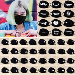 теплая маска Скидка Открытый милый рот антипылевым Спорт маска для лица респиратор теплый вуаль черный хлопок Велоспорт Маска высокое качество 48 стилей