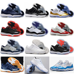 new arrivals 3e5fd 0c17c 11 Prom Night Herren Basketball Schuhe Blackout Ostern Gym Red Midnight  Navy PRM Erbin Barons Closing Concord Bred University Blue Turnschuhe rote  ostern ...