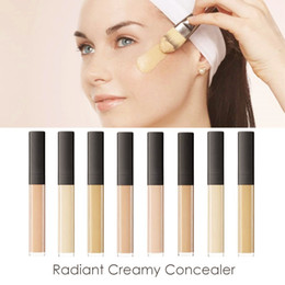 Wholesale Wrinkle Eye Cream - HOT Brand RADIANT CREAMY Cosmetics Face Eye Powder Liquid Foundation Concealer Makeup CHANTILLY VANILLA HONEY CUSTARD BUSCUIT GINGER