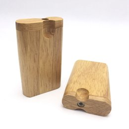 Sigarette di tabacco naturale online-Tubo di fumo a base di erbe tubo di legno naturale a mano in forma con tubi di tubo di pipa pipistrello pipistrello scavatrice uno hitter tubi spedizione gratuita