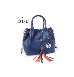 Wholesale Navy Blue Leather Handbags - luxury brand women handbags new arrival fashom designer shoulder bags for women tote bag pu leather M Brand bag