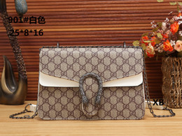 Wholesale rhinestone cross wallet - 2018 New style Cute Brand designer women handbags crossbody shoulder bags totes handbag 9 colors chains straps handbags with tags wallets 03