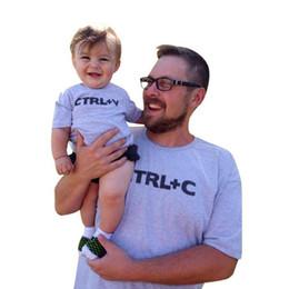 papá ropa hijo Rebajas CTRL C + CTRL V Patrón Familia Mira Dad Son Camisetas Moda Familia Ropa Niños Ropa Familia Trajes a juego