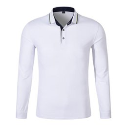 31fa58f4255 Men and Women pure cotton Long sleeves golf POLO shirt