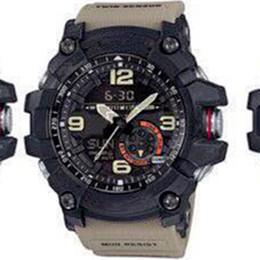 1dd4ee6fe1e relógios digitais duplos analógicos Desconto G Novo Estilo Relógios De  Choque Para Os Homens de Alta
