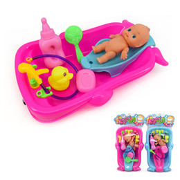 Wholesale Bathroom Game - Water Toys Bathtub Cognitive Floating Toy Bathroom Game Play Set Early Educational Newborn Gift Baby Bath Toys for Children Kids