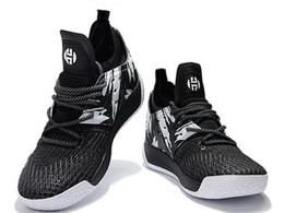 Wholesale Fashion Boots Online - Harden Vol 2 Basketball Shoes Online Store,2018 new tumbled leather,full-length Boost,Fashion Sports training Sneakers ,Running Sport Boots