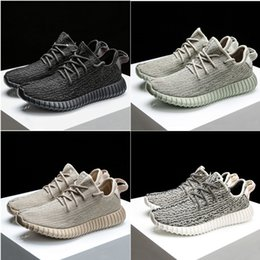 Wholesale Lace Up Oxfords For Women - Top Quality Turtle Grey Pirate Black Moonrock Oxford Tan BASF Boost Mens Running Shoes Original box Women Shoes For Sale Athletic Sneakers