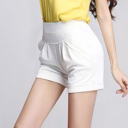 a28bddaeb2 Korea Summer Sexy Woman Shorts High Waist New Fashion Design Lady Casual  Short Trousers Boho Beach Solid Mini Shorts feminino