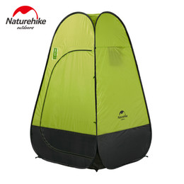 Wholesale camp shower tents - Naturehike Outdoor Tent Dressing Changing Toilet Auto Open Portable Tents For Camping Beach Shower Lightweight Fishing Tenda