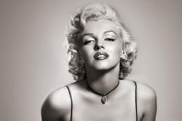 Wholesale Marilyn Monroe Canvas Prints - Marilyn Monroe poster Wall huge Canvas Print 02