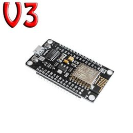 Envío Gratis 1 UNIDS / LOTE ESP8266 CH340G CH340 G NodeMcu V3 Lua Wireless WIFI Module Conector Placa de Desarrollo Basado ESP-12E desde fabricantes