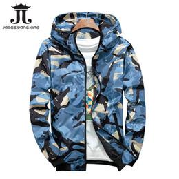 2019 giacche da windbreakers per uomo La nuova giacca con cappuccio da uomo autunno 2018 moda giacca sottile uomini giacca a vento sottile cerniera 8802 sconti giacche da windbreakers per uomo