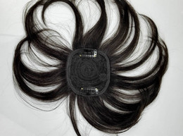 pezzi di chiusura remy remy Sconti ZhiFan toupee remy toupees di colore naturale per le donne in vendita chiusure superiori all'ingrosso pezzi di capelli 100% capelli umani nero marrone scuro