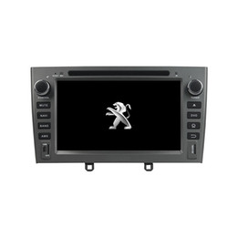 Wholesale peugeot screen - 7inch Andriod 6.0 Car DVD player for PEUGEOT PG 408 with GPS,Steering Wheel Control,Bluetooth, Radio