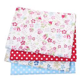 Twil Coton Tissu Patchwork Wild Flower Tissu Tissu DIY Quilting Couture Bébé Draps Matériel de robe ? partir de fabricateur