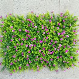 piante artificiali Sconti Simulazione Plant Wall Prati Tappeto Decora Fiore Artificiale Green Planting Eucalyptus Greensward Garden Decor Ornamenti per la casa 12 5jy ff