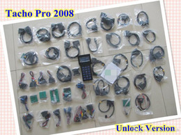 Argentina Nueva herramienta de restauración del odómetro del coche Tacho Pro 2008 programador universal del tablero Herramienta de corrección de kilometraje Herramienta de desbloqueo dhl envío gratis Suministro