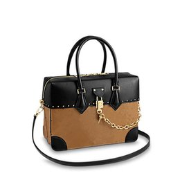 Wholesale City Single - Woman Shoulder Bags Luxury brand CITY MALLE handbags Alphabet Leather Designer handbags Size 30*20*15 model M43595