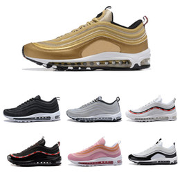 Wholesale Women X Sports - 2017 97 OG X Undftd Black Speed Red DS Top Quality vapormax Men 97s Running Shoes For women Undftds Sports Sneakers Size 40-45