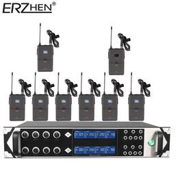 uhf micrófono inalámbrico Rebajas Micrófono inalámbrico 9000GTA8 UHF Micrófono inalámbrico inalámbrico de 8 canales Micrófono UHF KTV