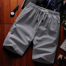 Wholesale Satin Drawstring Large - 2018 new men's shorts casual pants summer men's straight cotton shorts beach pants Japanese large size