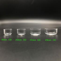 Canada Insert amovible en quartz Poêles à fond plat Poêle thermique Insert en Quartz Seau de miel pour cloche à quartz à fond plat cheap oil rig nail bucket Offre