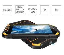 Wholesale Google Android Mtk - Runbo F1 Plus IP67 Waterproof 6GB+64GB Dual sim card dual standby 16 MP rear camera 5000mAh Mtk 6757 Octa Core fingerprint mobile Pho