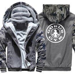 2018 grosso dos homens moletom com zíper hoodies z japão anime jacket  outono inverno nova moda hoodie jaqueta casaco raglan 14fee5800b6