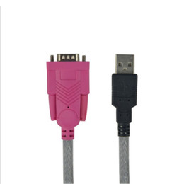2020 usb rs232 konverter kabel USB zum seriellen Daten-Verlängerungskabel USB zu RS232 DB9 9Pin COM Port-Konverter-Kabel für Bargeld-Register-Drucker-Digitalkamera rabatt usb rs232 konverter kabel