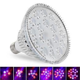 Par 54 online-LED Grow Lights 15 W 21 W 27 W 36 W 45 W 54 W E27 PAR38 PAR30 Lampadina Per Fiore Sistema di Coltivazione Idroponica Sistema Grow Box