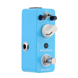 Wholesale mooer guitar - Mooer Sky Verb Micro Mini Reverb Effect Pedal for Electric Guitar True Bypass