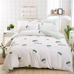 Wholesale Bedding Sets For King Size - 2018 New Vegetable Printed Twin Full Queen King Size Bedding Set  Duvet Cover Set for Kids and Adults