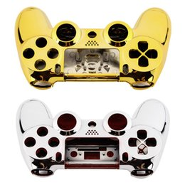 Wholesale Easy Button Wholesale - 2017 Hot New Full Housing Shell Case Skin Button Set For Playstation 4 PS4 Controller Easy installed stylish and practical